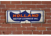 HOLLAND MOTOR EXPRESS SIGN