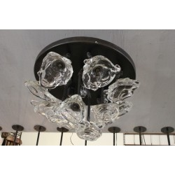 HAND BLOWN BOUQUET CHANDELIER