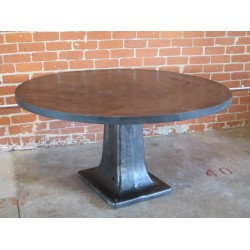 ROUND STEEL TABLE - 5'