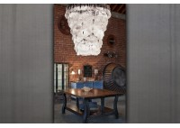 CASCADING WATER CHANDELIER - 50""
