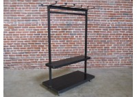 JASON WEIN SCHOOL HOUSE RACK - STEEL W/ SHELVES