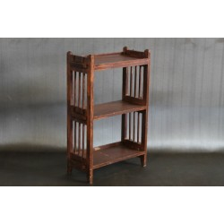 ANTIQUE WOOD BOOK SHELF
