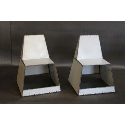 PATCHWORK CHAIRS IN WHITE