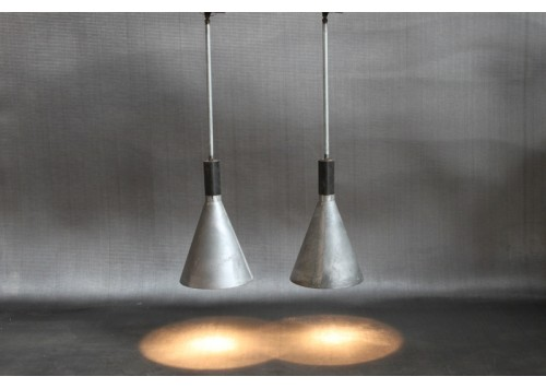 INDUSTRIAL CONED SHAPED PENDANTS