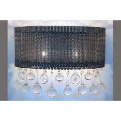 WIRE MESH GLOBE SCONCE