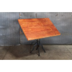 SPRING LOADED DRAFTING TABLE
