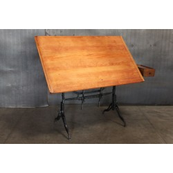 DRAFTING TABLE W/ SIDE DRAWER