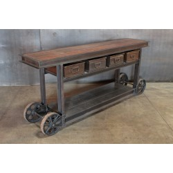 21.  LONG CART WITH DRAWERS