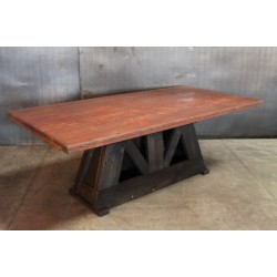 MINI TRESTLE TABLE