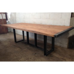 RECLAIMED OAK TABLE