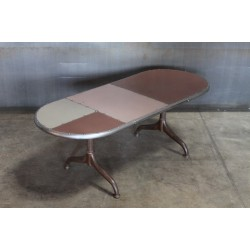 PATCHWORK OVAL COFFEE TABLE