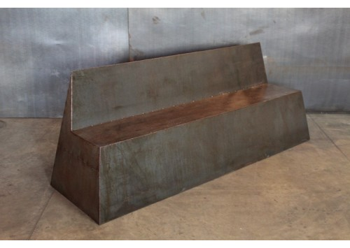 STEEL PATCHWORK BENCH