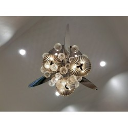 HIGH POLISH PROPELLER CHANDELIER