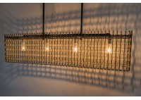 JASON WEIN RECTANGLE CONVEYOR CHANDELIER