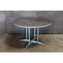 ROUND PATCHWORK STEEL TOP