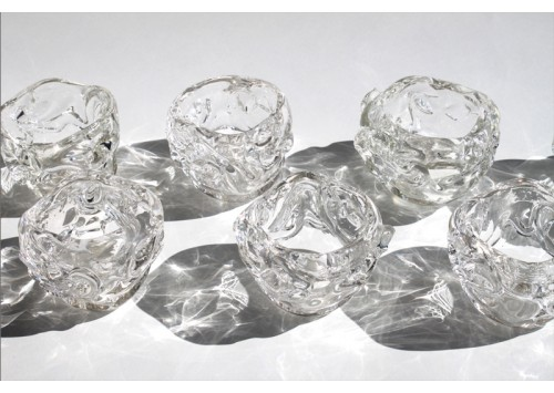 SMALL ICE CUBE VOTIVES