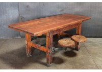 VOCATIONAL SCHOOL WORK DESK 4-SEAT