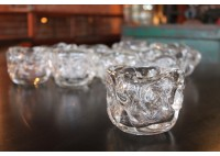 HAND BLOWN GLASS VOTIVES