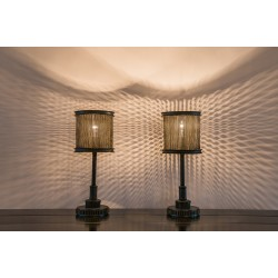 JASON WEIN WIRE MESH TABLE LAMP